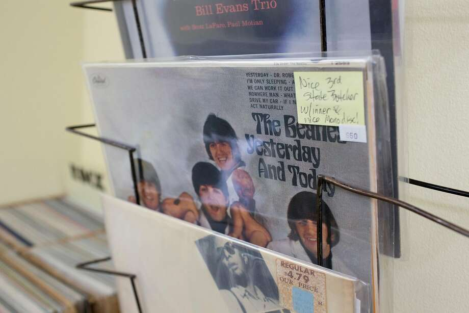 "A copy of the Beatles' ""Yesterday and Today,"" selling for $950 was one of the rarities available at the swap. Photo: Brian Feulner, Brian Feulner, Special To The Chronicle"