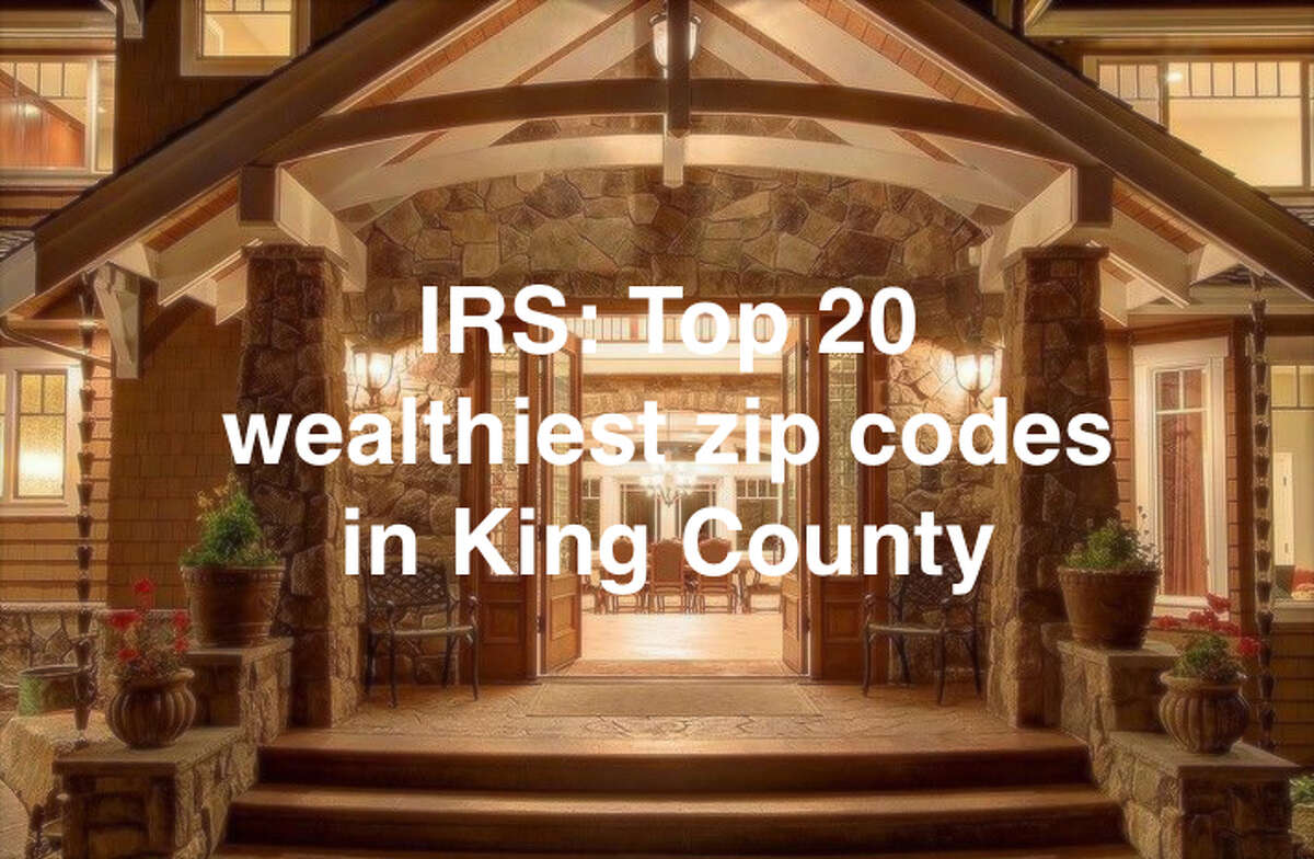 A report from the Internal Revenue Service provides a snapshot of how much money people in the King County area earned in 2015, the most recent year of data available. Find out the 20 wealthiest ZIP codes in King County by income levels in the gallery.
