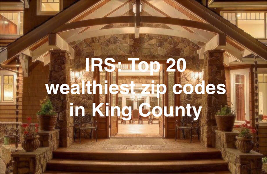 A report from the Internal Revenue Service provides a snapshot of how much money people in the King County area earned in 2015, the most recent year of data available.Find out the 20 wealthiest ZIP codes in King County by income levels in the gallery. Photo: P-I File