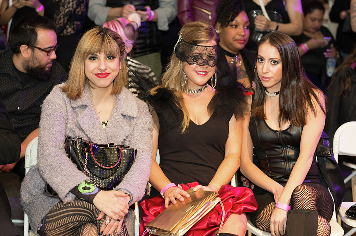 The 2nd Annual Art of Fetish & Fashion show at Brick Saturday night Feb. 10, 2018, was full of leather and lace, riding crops and a gimp suit, or two.