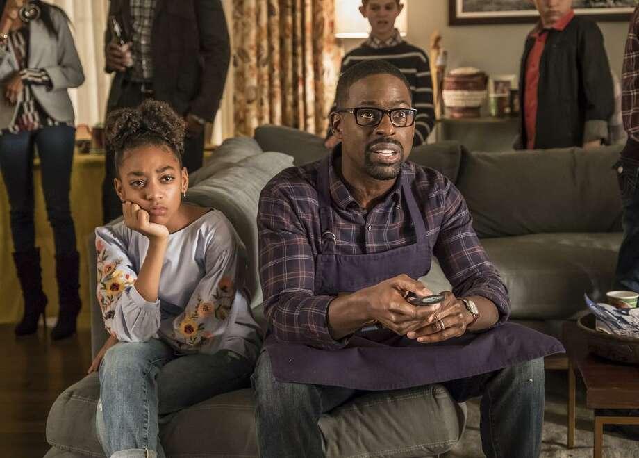 "Sterling K. Brown stars in ""This is Us"" as Randall Pearson. Photo: NBC / Ron Batzdorff/NBC / 2017 NBCUniversal Media, LLC"