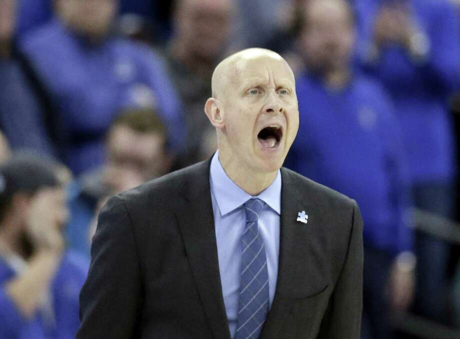 Xavier coach Chris Mack has his team at 23-3 after the Musketeers beat Creighton 72-71 on Saturday in Omaha, Neb. Photo: Nati Harnik / Associated Press / Copyright 2018 The Associated Press. All rights reserved.