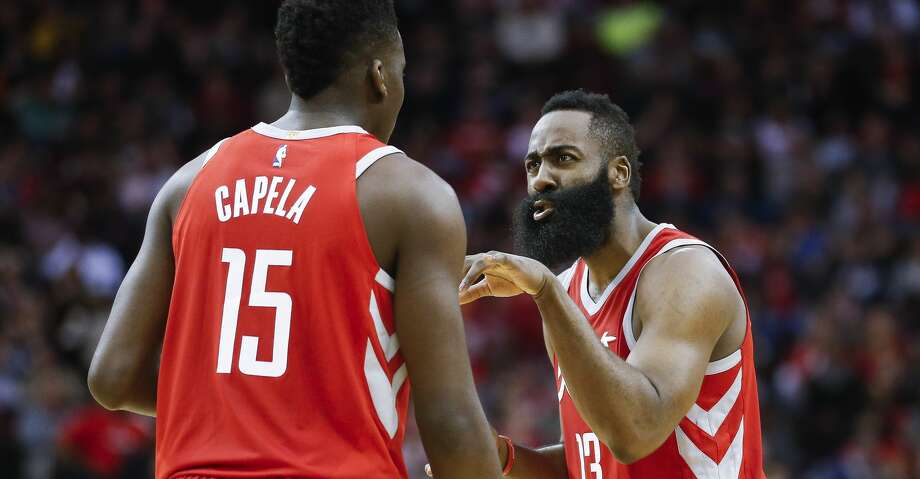 The Rockets have thrived on the court, but the same can't be said of their local cable TV ratings, thanks in part to carriage issues. Photo: Michael Ciaglo/Houston Chronicle