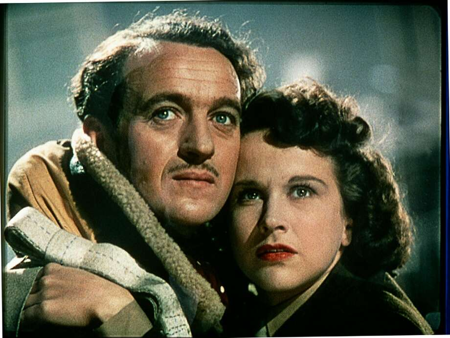 "David Niven and Kim Hunter in ""A Matter of Life and Death."" Photo: Columbia Pictures 1946"