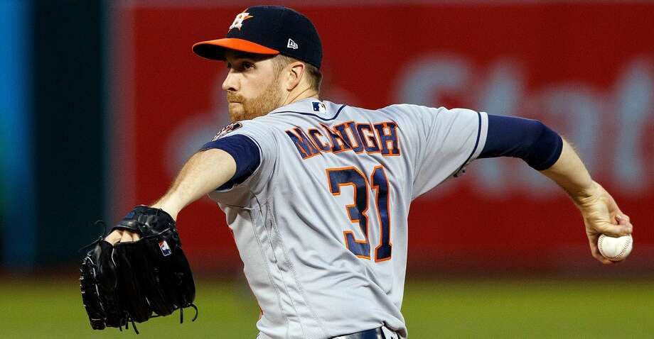 Collin McHugh has reportedly drawn trade interest from the Orioles and Twins. Photo: Jason O. Watson/Getty Images