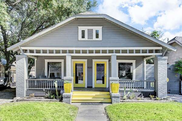 1020 Studewood Street  : This 1920 home in Houston has 2 bedrooms, 1 and a half bathrooms, 1,344 square feet, and is listed for $625,000. It's currently a law office, but it could be transformed into a retail space, home or duplex.
