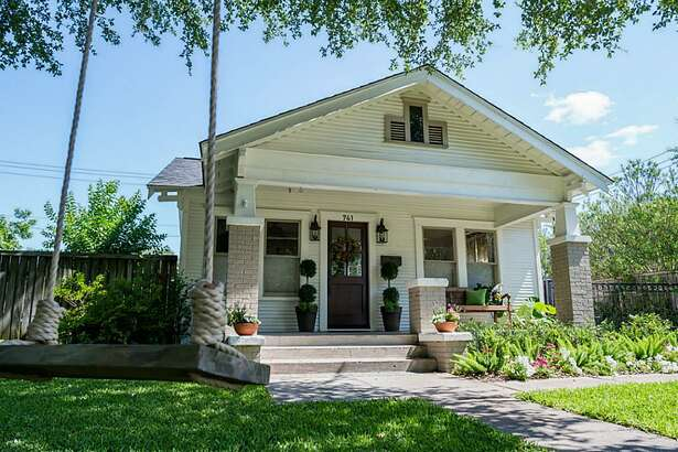 741 E. 13th 1/2 Street : This 1925 home in Houston has 2 bedrooms, 2 bathrooms, 1,381 square feet, and is listed for $530,000.