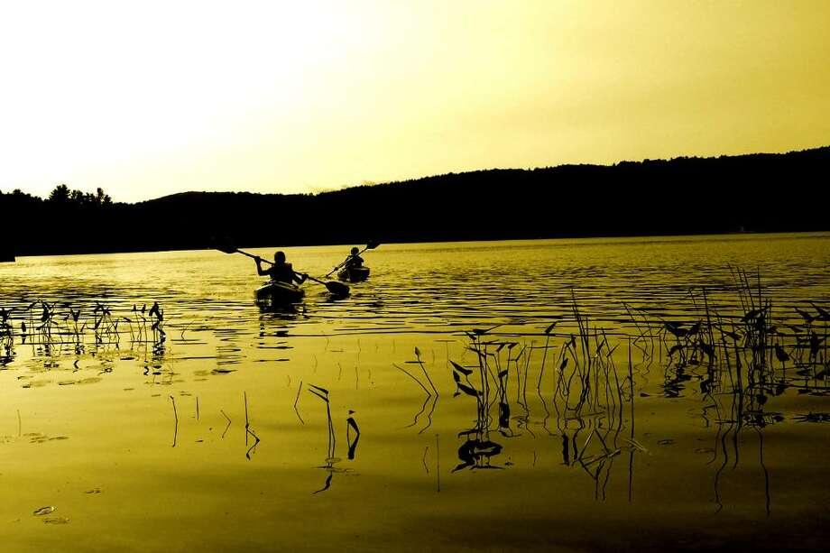 Benjamin Mancino, a senior at Columbia High School, took this photo at Brant Lake in Warren County.