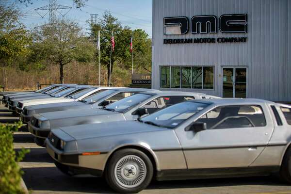 3of35DeLoreans are lined up outside the DeLorean Motor Company, Wednesday, Jan. 31, 2018, in Humble. ( Mark Mulligan / Houston Chronicle )Photo: Mark ...