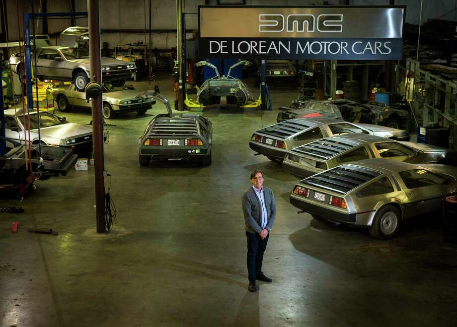 "Stephen Wynne, CEO of the DeLorean Motor Co., believes ""there's a real desire for a car with creature comforts from 2018 but pays homage to another era.""   Photo: Mark Mulligan, Houston Chronicle / © 2018 Houston Chronicle"