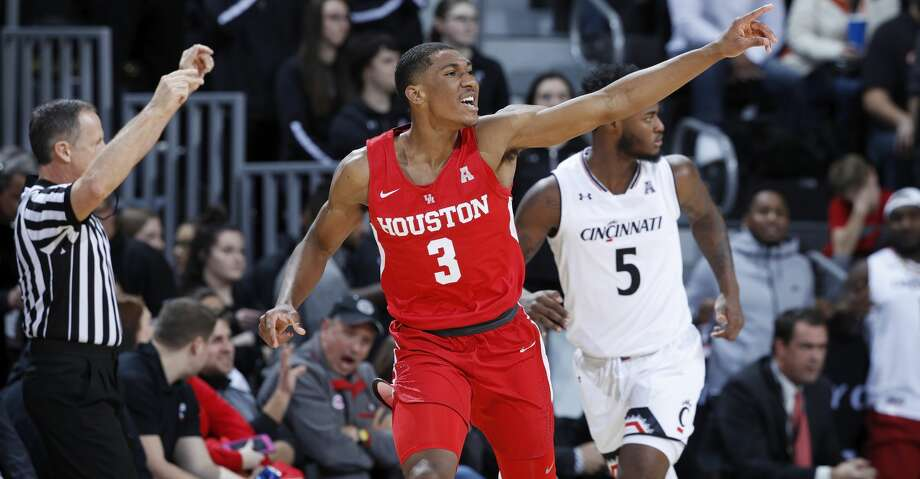 University of Houston sophomore guard Armoni Brooks was named American Athletic Conference player of the week on Monday. Photo: Joe Robbins/Getty Images