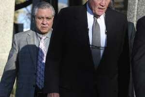 Gary Cain leaves the John H. Wood, Jr. Federal Courthouse, on the third day of his criminal fraud trial, Wednesday, Jan. 24, 2018. Cain and his co-defendant Texas State Sen. Carlos Uresti, are on trial in connection with their roles in FourWinds Logistics, a frac sand company. According to prosecutors, the now-defunct oil field services company, was a Ponzi scheme that defrauded investors. Uresti served as FourWinds' legal counsel, recruited investors and was a 1 percent owner, but never invested. Cain also never invested in FourWinds, which bought and sold sand for use in fracking to extract oil and gas from shale. It went bankrupt in 2015.