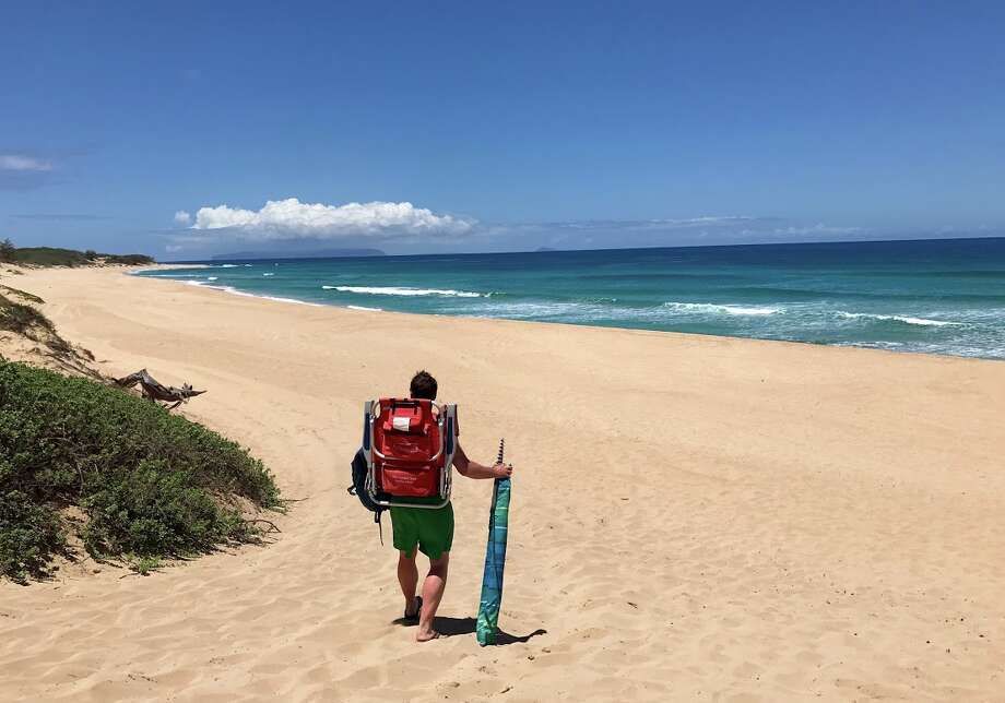 Hawaii fares as low as $337 roundtrip from Bay Area in May. Picture: Polihale State Park beach on the west side of Kauai Photo: Chris McGinnis