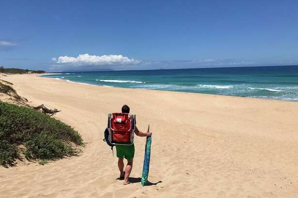 Hawaii fares as low as $337 roundtrip from Bay Area in May. Picture: Polihale State Park beach on the west side of Kauai