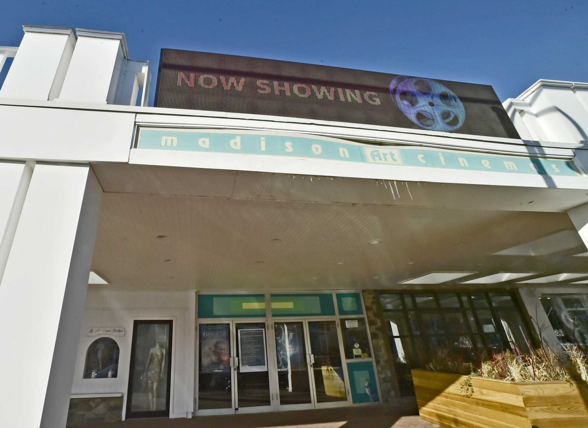 High-tech marquee now graces Madison Arts Cinema
