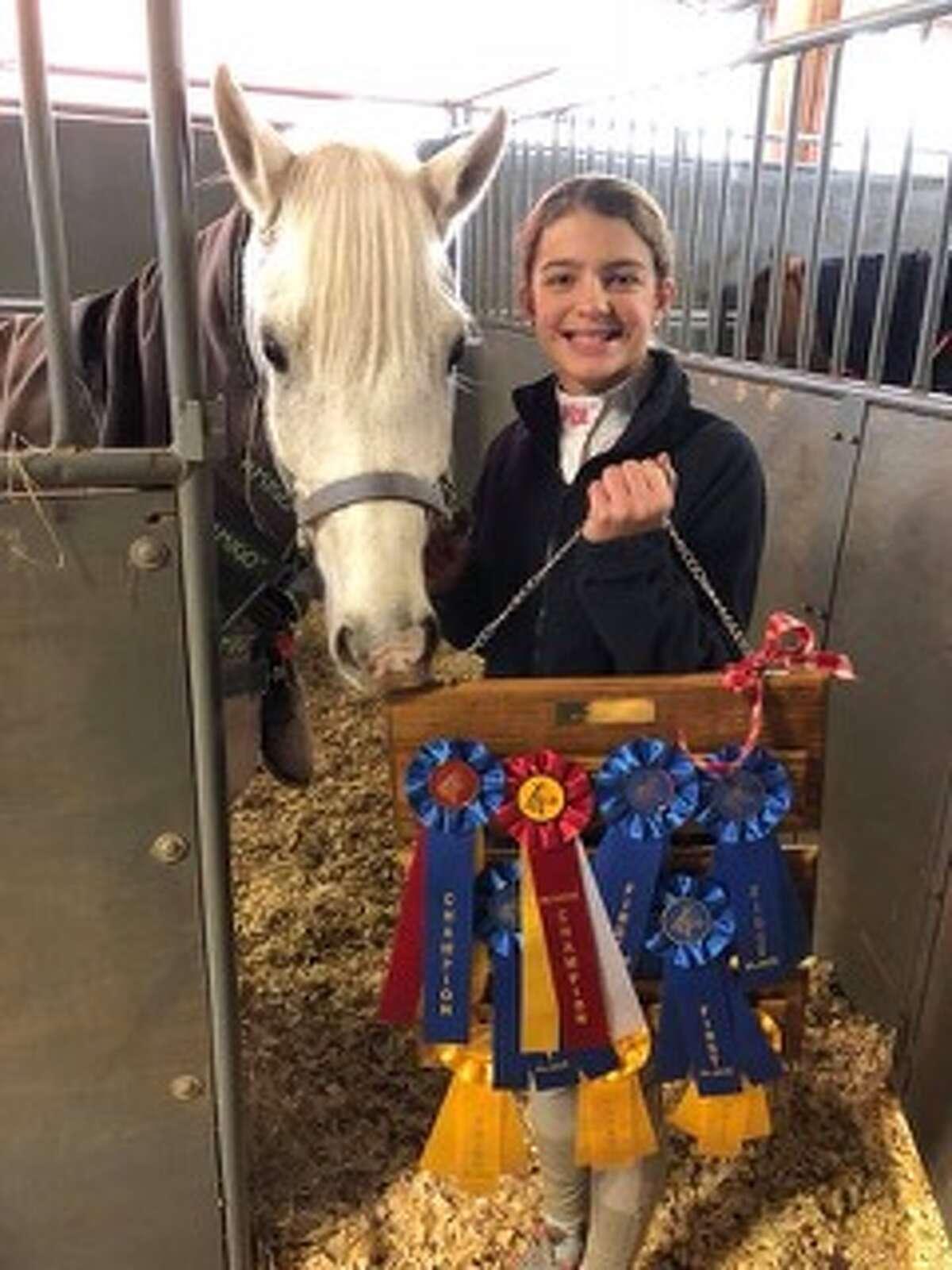 Horse show: Parker Cage
