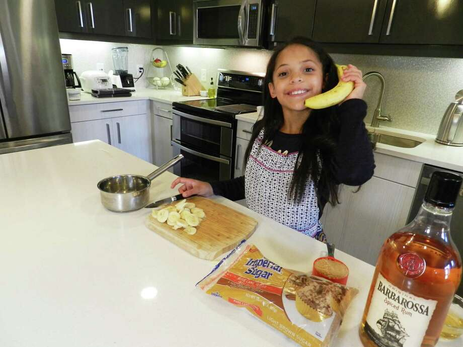 "San Antonio's Chloe Hawkins, a student at St. Anthony Catholic School, displays the ingredients she used to make flan on the premiere of Fox's new season of ""MasterChef Junior."" Photo: Courtesy Of Rosie Alvarado /"
