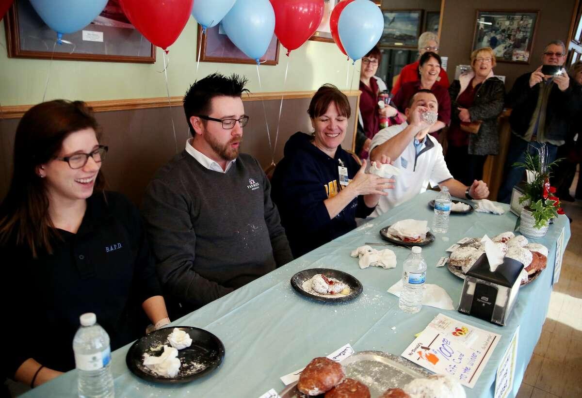 Inaugural Paczki Eating Contest 2018