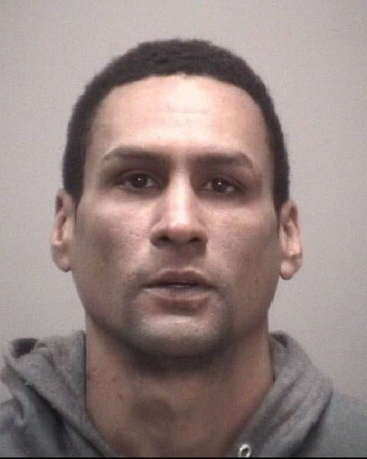 Jose Javier Vega, 35, of Howe Street, New Haven, was charged with third-degree robbery. Photo: Courtesy Of New Haven PD