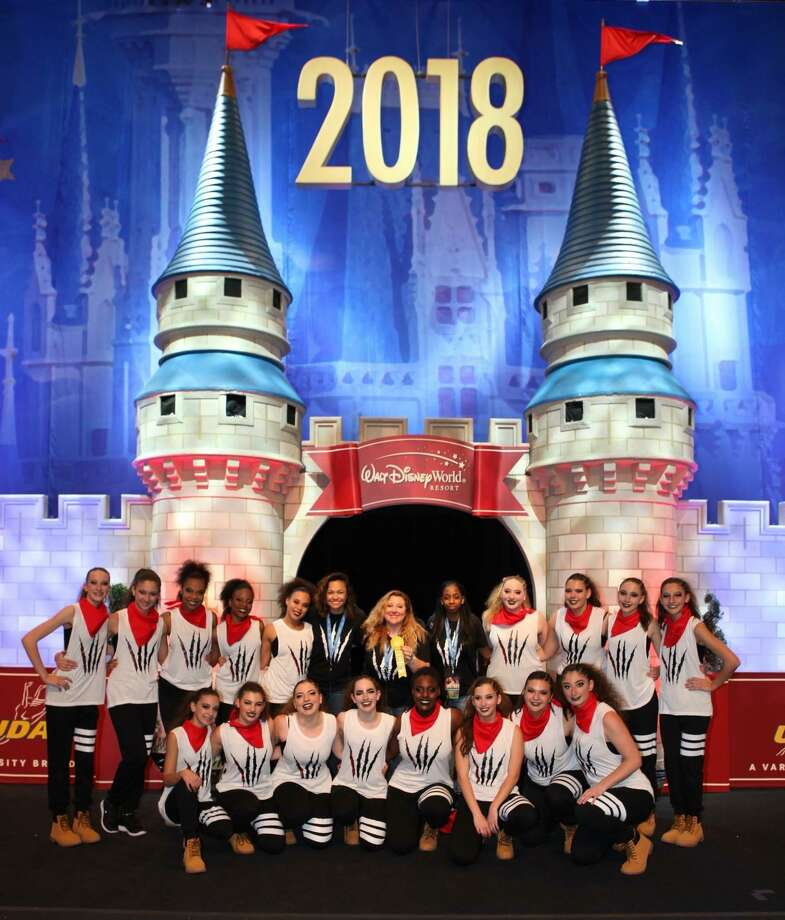 The Fairfield Warde dance team, coached by Jennifer Kealey, competed in the 2018 National Dance Team Championships at Walt Disney World in Orlando, Florida from February 2-4. The Mustangs competed in the Large Hip Hop Varsity Division against 20 other elite dance teams and finished in 10th place. The NDTC is the only national-level dance team championship that is endorsed by the National Federation of State High School Associations. Photo: Contributed Photo / Contributed Photo