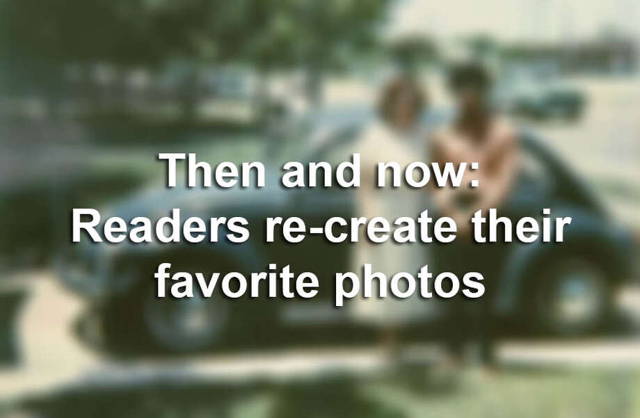 See the incredible transformations when readers of the San Antonio Express-News re-create their favorite old family photos. Photo: Courtesy/SAEN