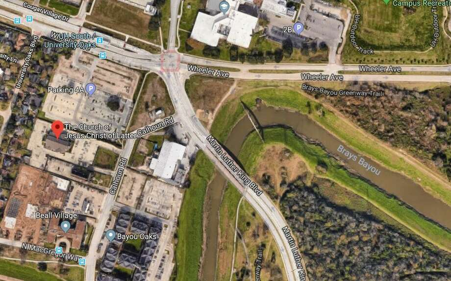 A University of Houston student was beaten and carjacked near campus Monday afternoon. Photo: Google Maps