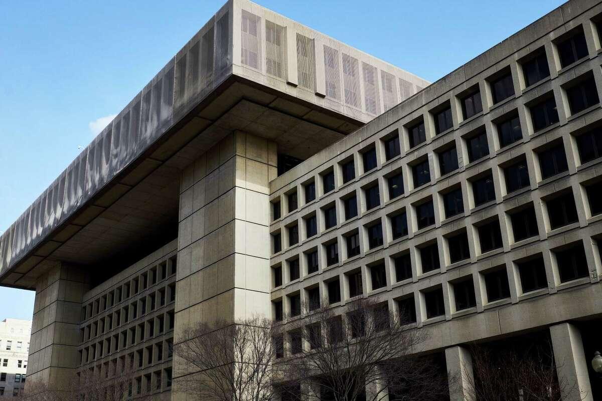 The FBI headquarters in Washington, D.C., on Feb. 2, 2018.