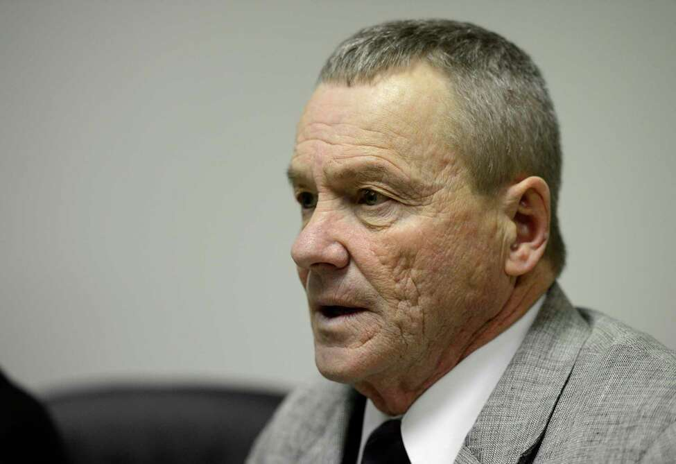 Rensselaer County Sheriff Jack Mahar in 2013. Mahar and other county administrators are accused of searching electronic medical records at a local hospital using a system designed to check the care of inmates. The federal lawsuit is one of multiple claims filed by current and former sheriff's department employees, and private citizens. (Skip Dickstein/Times Union)