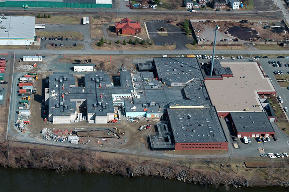 Aerial photo of the Rensselaer County Jail (Courtesy Rensselaer County Sheriff's Office)