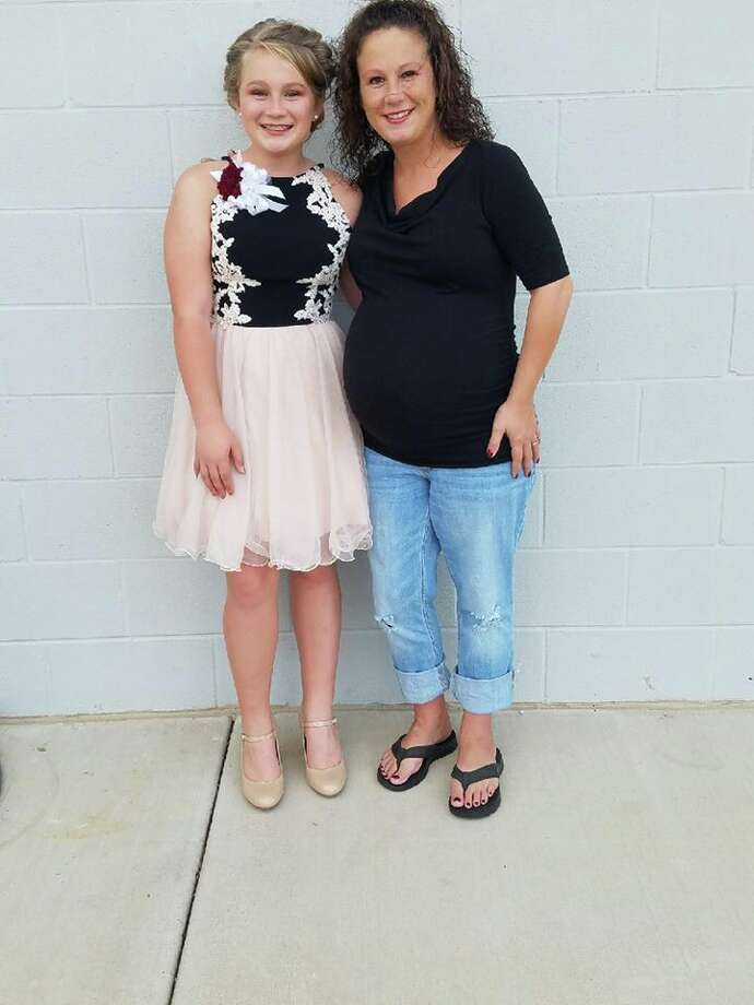 Crystal Whitley, a special education coordinator at Mullins ISD, has been diagnosed with sepsis and pneumonia after contracting two strains of the flu. Photo: Christy Lewis/Facebook