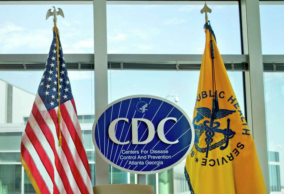 A Centers for Disease Control and Prevention logo is on display at the agency's federal headquarters in Atlanta. (AP Photo/David Goldman, File) Photo: David Goldman, STF / Copyright 2017 The Associated Press. All rights reserved.