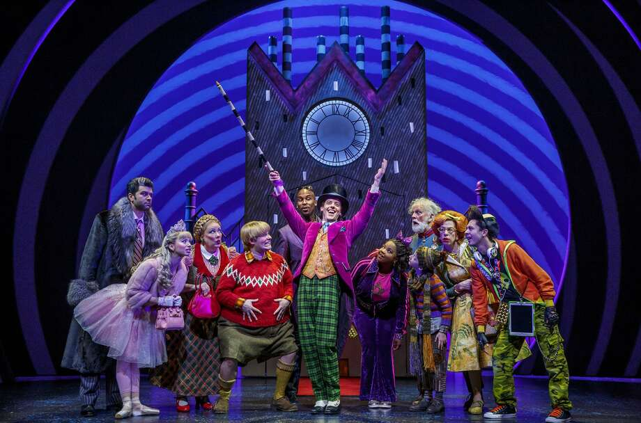 """The touring cast of """"Roald Dahl's Charlie and the Chocolate Factory."""" Photo: Joan Marcus / Roald Dahl's Charlie And The Chocolate Factory Via Proctors"""
