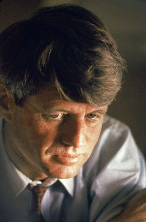 Close-up portrairt of American senator Robert F. Kennedy (1925 - 1968) during his presidential campaign, March 1968. Today's political leaders should read his speeches as a homework assignment. Photo: Bill Eppridge /Time & Life Pictures /Getty Image / Time & Life Pictures