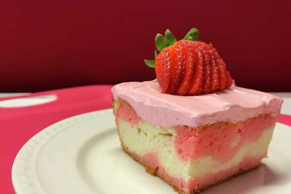 Strawberry Love Cake from Food Network star and cookbook author Valerie Bertinelli.