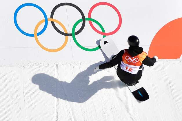 New Zealand's Carlos Garcia Knight competes in a run during the final of the men's snowboard slopestyle at the Phoenix Park during the Pyeongchang 2018 Winter Olympic Games on February 11, 2018 in Pyeongchang. Photo: MARTIN BUREAU/AFP/Getty Images