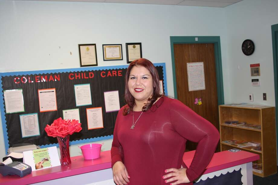Claudia Juarez. is the director of the Coleman High School Child Care Center Photo: Courtesy Photo