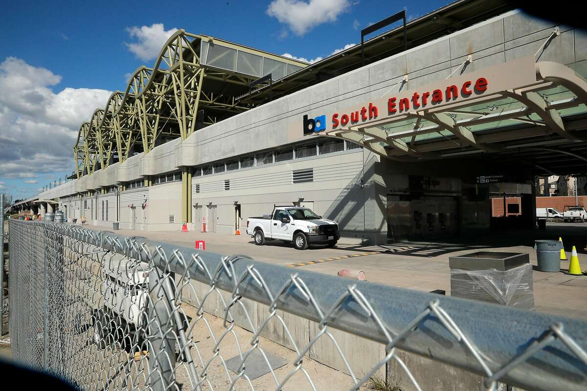 The Berryessa BART station so far is the furthest extension south into San Jose, Calif., seen on Monday Feb. 12, 2018. The BART extension project into San Jose is in part funded by the federal government and could be effected by President Trump's new infrastructure plan.