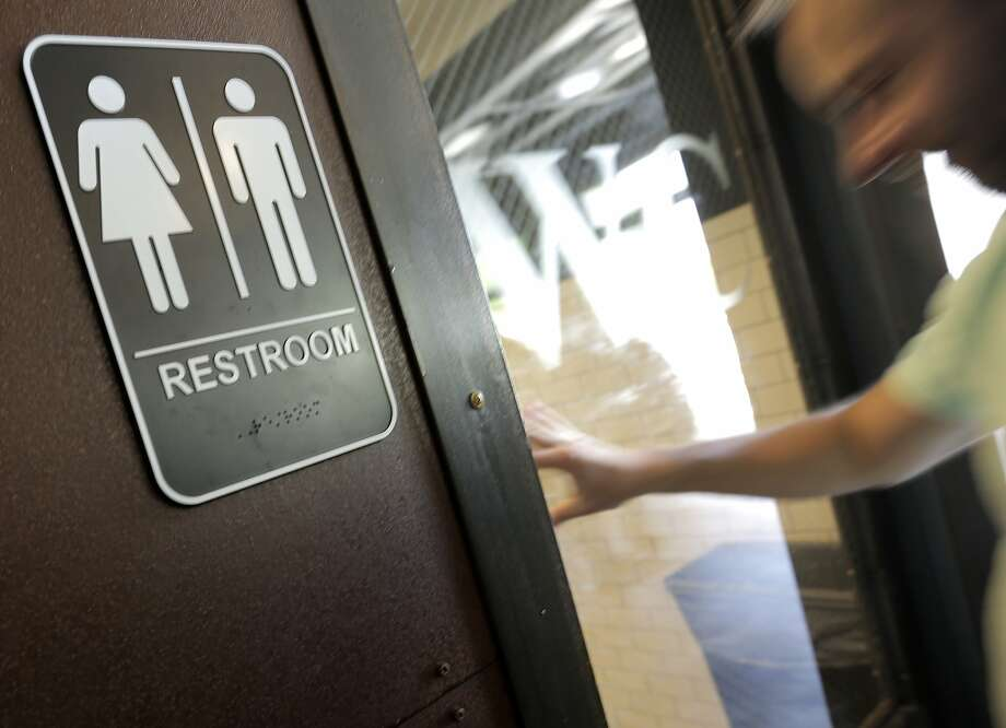 A state civil rights agency has sued San Francisco on behalf of a transgender woman who said a city employee refused to let her use the women's restroom and cursed at her while she was taking part in a training session on city property. Photo: Elizabeth Conley, Houston Chronicle