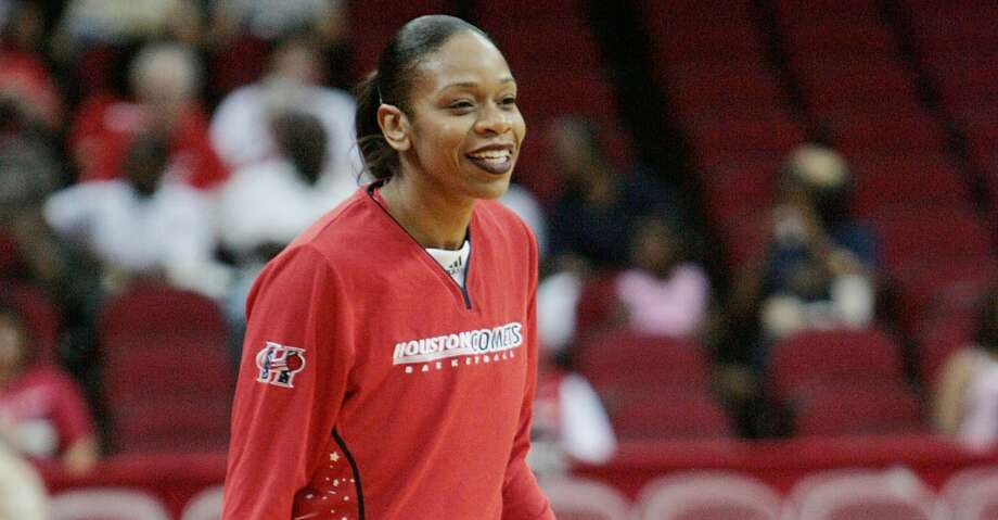 Tina Thompson, a nine-time All-Star who helped the Houston Comets win four consecutive WNBA Championships, was elected to the Women's Basketball Hall of Fame on Monday. Photo: Bob Levey/For The Chronicle