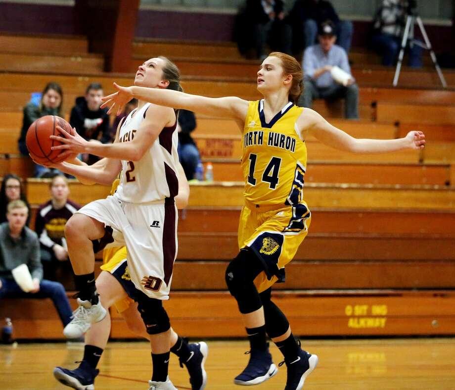 North Huron at Deckerville — Girls Basketball 2018 Photo: Paul P. Adams/Huron Daily Tribune