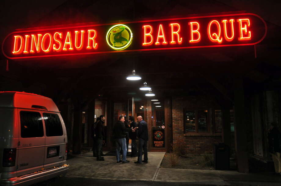 Dinosaur Bar-B-Que at 377 River St. in downtown Troy. The city's new comprehensive plan proposes a hotel for the site. (Times Union archive photo.) Photo: Philip Kamrass / 00010956A