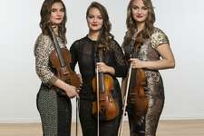 The Quebe sisters, Grace, Sophia and Hulda Quebe, from Burleson, Texas, have family connections in Plainview. These outstanding singers and fiddle players will perform at 7:30 p.m. Monday, Feb. 19, at the Harral Auditorium on WBU campus.
