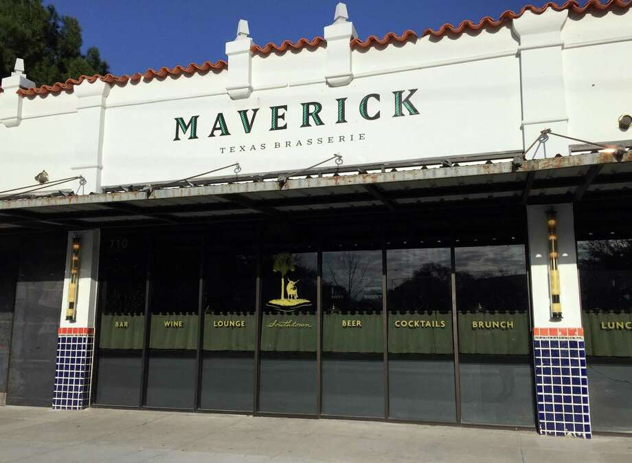 The Maverick Texas Brasserie is located at 710 S. St. Mary's St. Photo: Paul Stephen / San Antonio Express-News