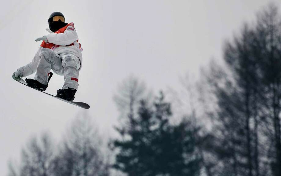 At 31, Shaun White, practicing above on the halfpipe on Saturday in Pyeongchang, is 12 years older than the  heartthrob who won his first Olympic gold medal in Turin in 2006. Photo: Carlos Gonzalez, MBR / Minneapolis Star Tribune
