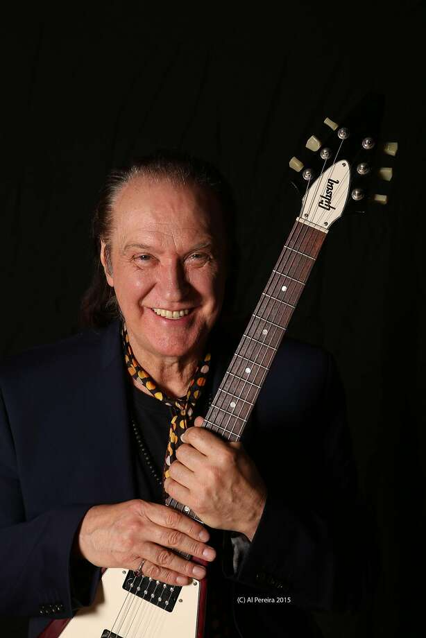 Dave Davies played with the early Kinks, but has been performing solo, though, now 71, he has a new album playing with his son. Photo: Courtesy Of The Artist