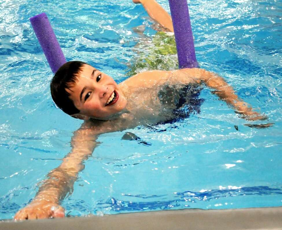 Go for a swim. Some outdoor pools and state park beaches are open for the season, but check before you head out. The YMCA and Capital Region school districts offer splash time for members and residents.