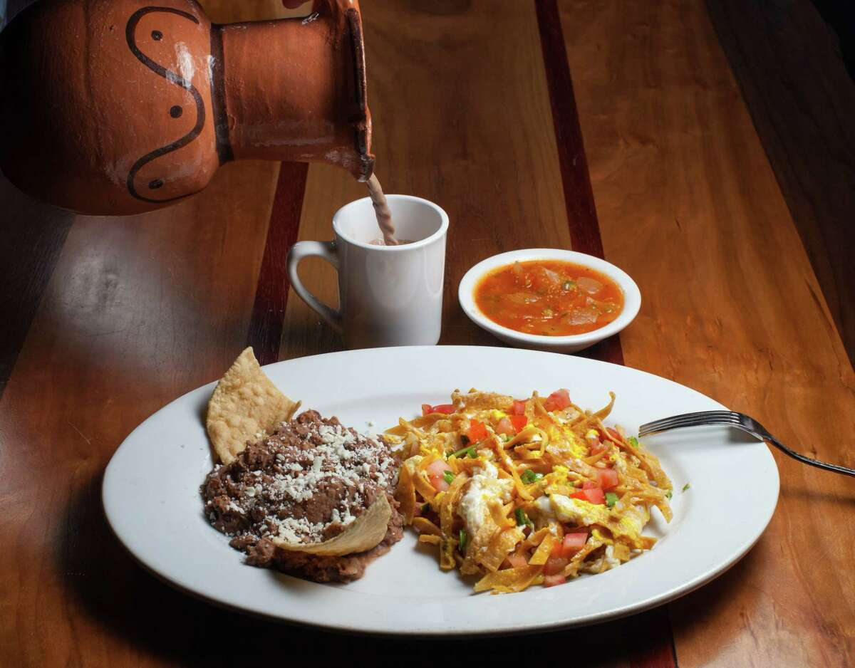 Migas con huevos are on the breakfast menu at Arnaldo Richards' Picos restaurant which is now serving breakfast seven days a week: weekdays from 7 to 10:30 a.m. and Saturday and Sunday from 7 a.m. to 3 p.m.