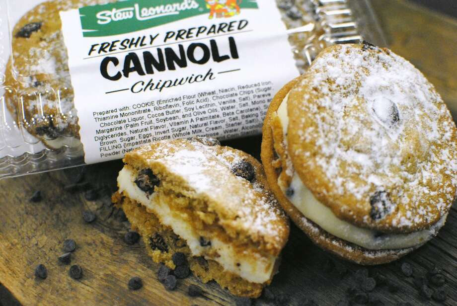 The Cannoli Chipwich at Stew Leonard's in Danbury on February 13, 2018. Photo: Stew Leonard's