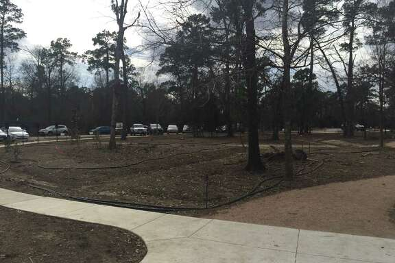 The new parking loop has been completed at Houston Arboretum and Nature Center.
