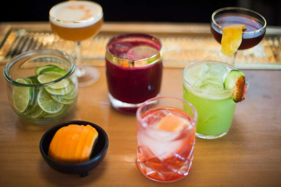 Drinks at El Barrio in Guerneville are creative, and the liquor selection serious, with a focus on Tequila, mescal and bourbon. Photo: Brian L. Frank, Special To The Chronicle